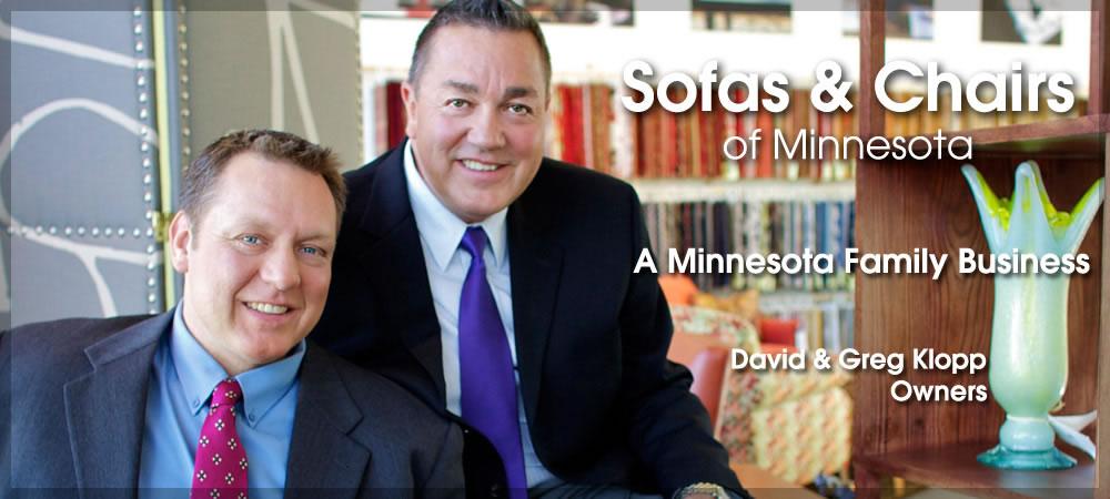 David & Greg Klopp, Owners Sofas & Chairs