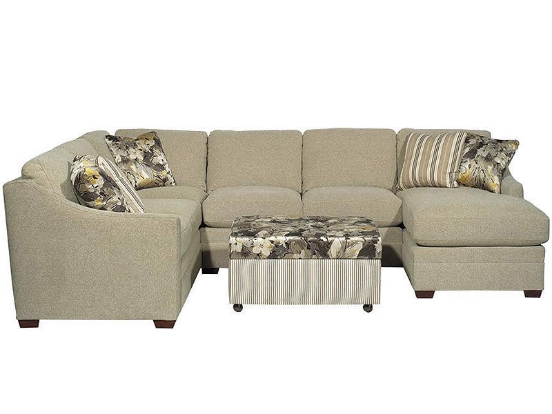 Encore sectional by Hickorycraft