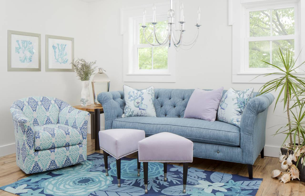 Clic Deep Tufting And An Elegant Bench Seat Hint At The Traditional Heritage Of Graceful Bridgeport Sofa While Unexpected Details Such As A Tufted