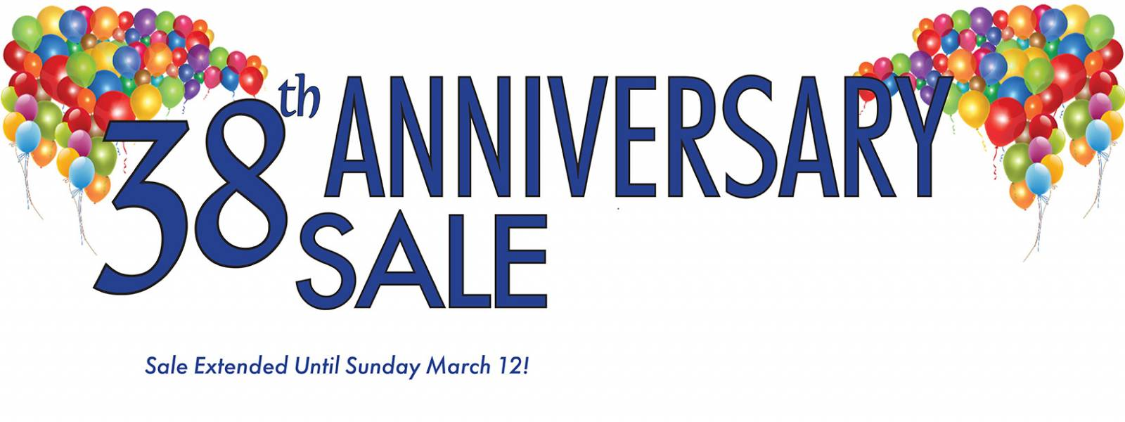 Sofas & Chairs 38th Anniversary Sale