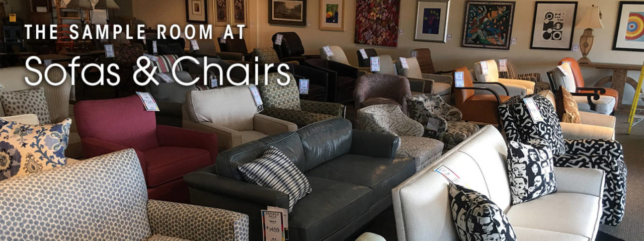 The Sample Room At Sofas Chairs