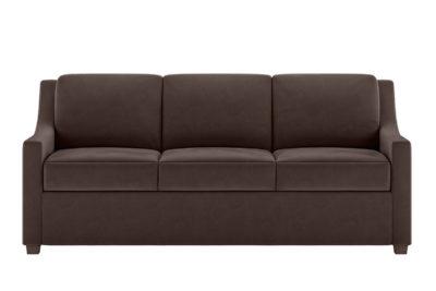 Perry Sleeper Sofa in Mahogany