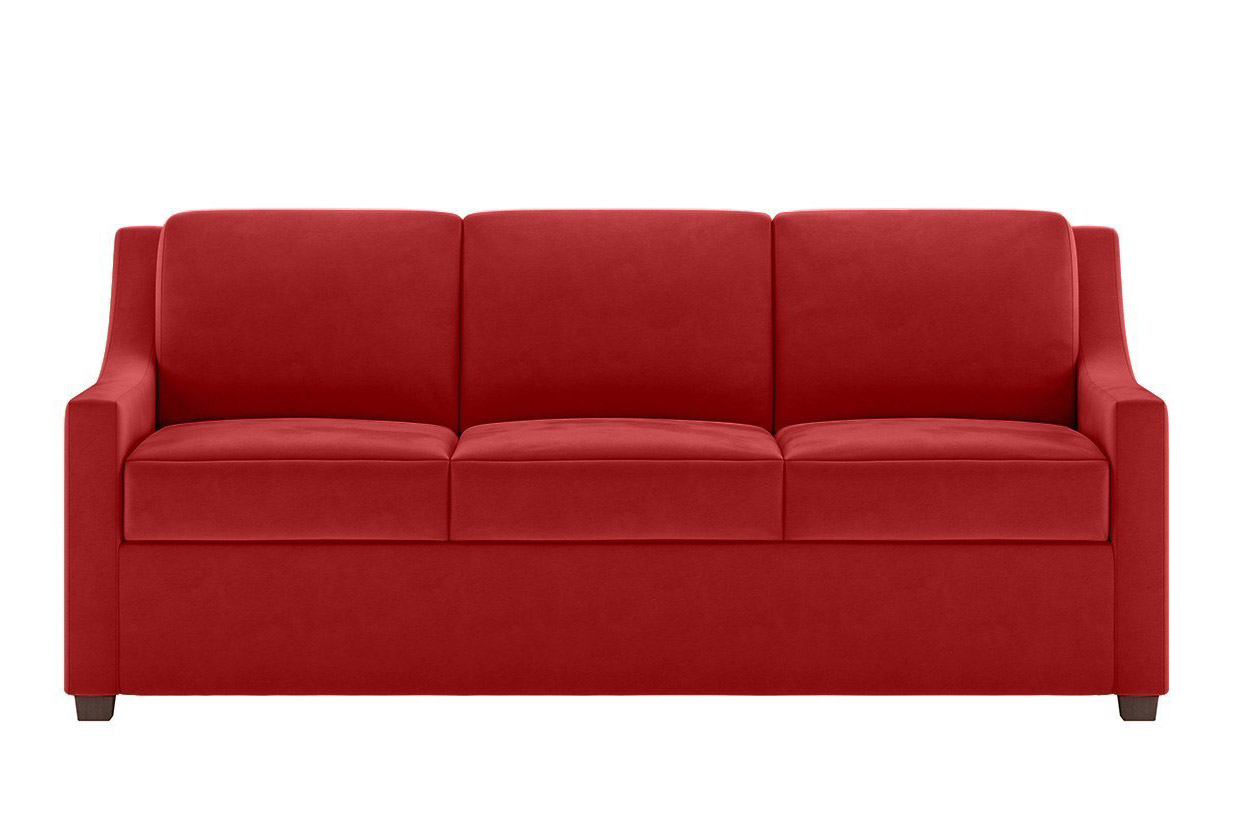 Perry Sleeper Sofa in Red - Sofas & Chairs of Minnesota