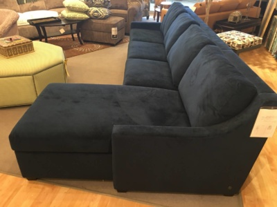 American Leather King sleeper with storage