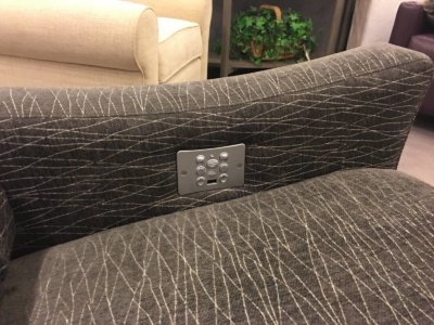 Comfort Design Power Sectional